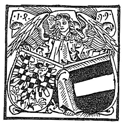 anděl držící erby Moravy a Brna (1499)