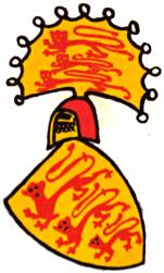 Züricher Wappenrolle - Anglie