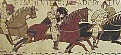 Výřez z tapisérie z Bayeux 3