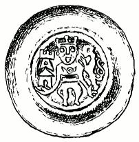 mince Přemysla II. (III.) se lvem v ruce
