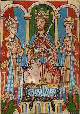 Friedrich Barbarossa a synové