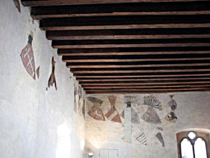 erbovní síň paláce Gozzoburg v Kremži