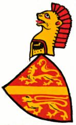 Züricher Wappenrolle - Kyburg