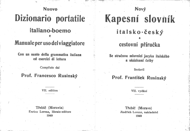 Slovník vydaný na Moravě