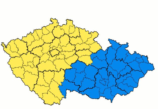 fiktivní přehnaný moravský územní požadavek na dřívější české území