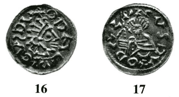 Václav bez přilby na mincích Oldřicha