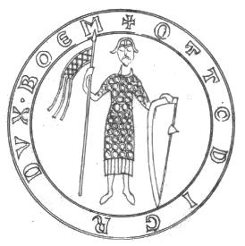 pečeť Konráda III. z doby jeho české vlády