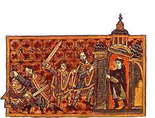 Zavraždění sv. Václava