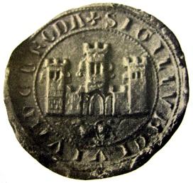 fotografie nejstarší pečeti města Uherský Brod (1297)