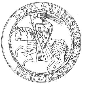 pečeť Václava I. jako plzeňského vévody