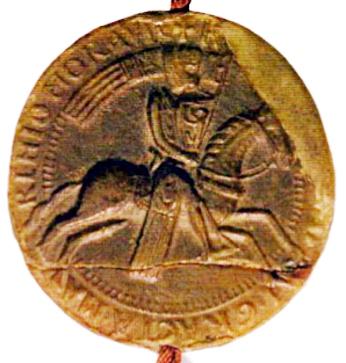 fotografie 2. pečeti moravského markraběte Vladislava I. Jindřicha (1213)