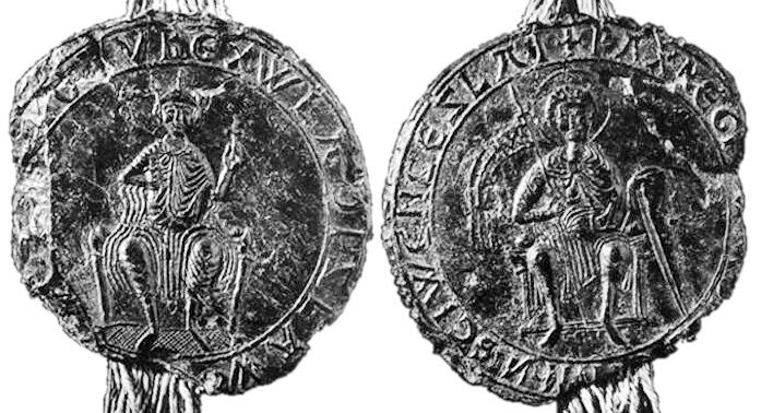 pečeť českého krále Vladislava I.