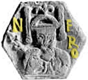 Dlaždice s obrazem Nerona