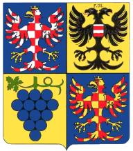 původní návrh znaku Jihomoravského kraje