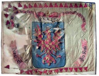moravský prapor legie arcivévody Karla, kolem roku 1800