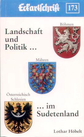 zlato-červeně šachovaná moravská orlice na obálce knihy vydané Rakouským krajanským sdružením