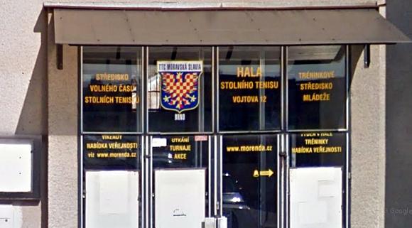 budova atletického klubu Moravská Slávia v Brně