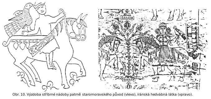 Nákončí z hrobu v Dolních Dunajovicích
