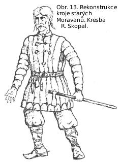 Staromoravský mužský oděv